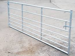 Galvanised Field Gates 7 Bar image