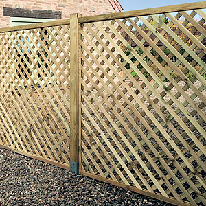 Elite Lattice Trellis 0.3m x 1.8m image