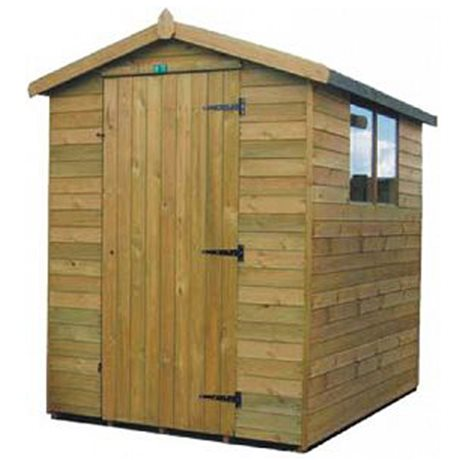 Heavy Duty T&G Log Lap Apex Shed image