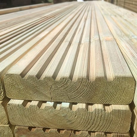 3.6m x 120mm x 32mm Deck Board image