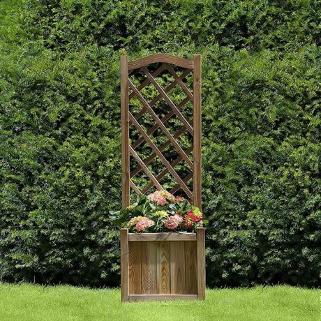 Kelso Planter with Trellis image