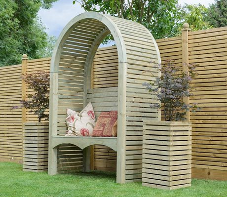 Contemporary Garden Arch image