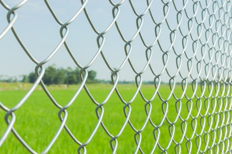 Galvanised Chain Link Fencing 25M image