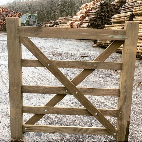 5 Bar Wooden Gates Price on Application image