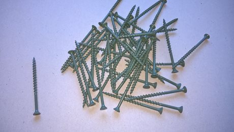 "Premium Decking Screws Tub 1000 8x3"" Green image"