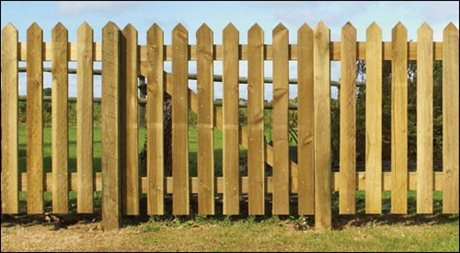 Palisade Pointed Gate various sizes available image